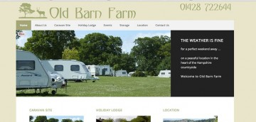 another smart website design from ChartwellWeb, Liphook,, Hampshire