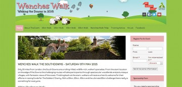 Wenches walk - another nsmart website design from ChartwellWeb, Liphook,, Hampshire