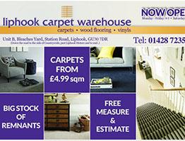 liphook carpet warehouse