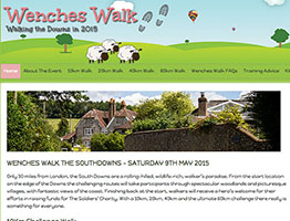 wenches walk 2015