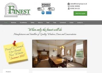 finest group new website