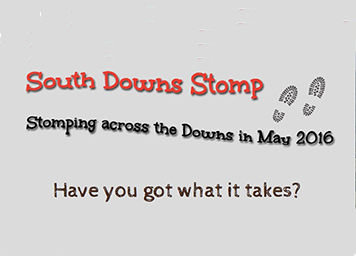 sign up for the south Downs Stomp 2016